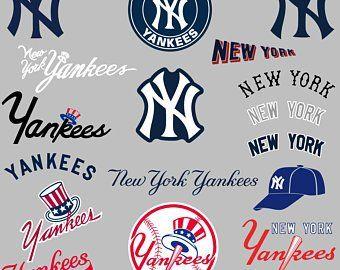 New York Yankees Svg Etsy New York Yankees Yankees New York