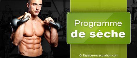 Nutrition sportive : programme de sèche/minceur