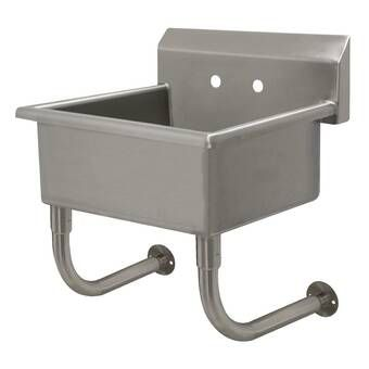 21 5 X 24 Free Standing Laundry Sink With Faucet Sink Advance