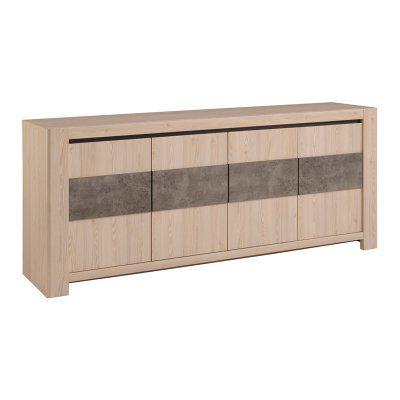 Parisot Chris Sideboard With 4 Doors 0184en4p Sideboard