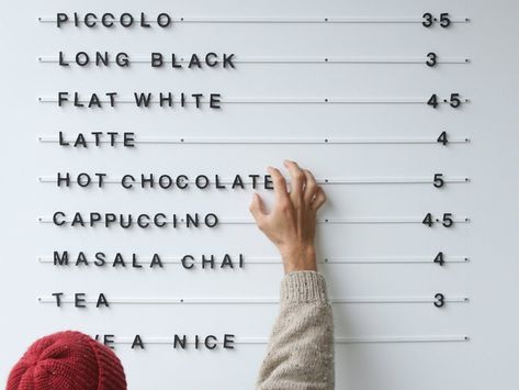 Coffee Shop Menu, Coffee Bar Signs, Coffe Bar, Coffee Shops Ideas, Coffee Shop Signage, Coffee Ideas, Espresso Coffee, Coffee Maker, Coffee Shop Interior Design