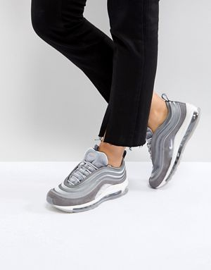 Nike - Air Max 97 Ultra '17 - Baskets en velours - Gris ...