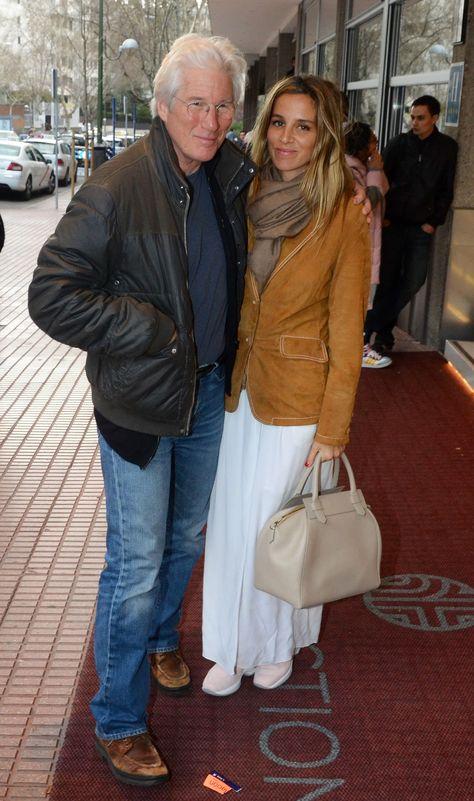 Richard Gere, secretly got married to his Spanish girlfriend Alejandra Silva