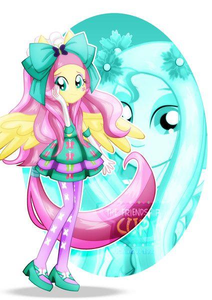 Mlp Fim Imageboard Image 1808042 Alternate Hairstyle Artist Jucamovi1992 Clothes Equestria Girls Female Fluttershy My Little Pony Games Equestria Girls Fluttershy