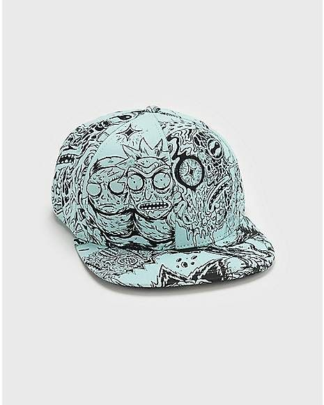 9832d2b04071 Rick and Morty Snapback Hat - Spencer's | Snapback Hats in 2019 ...