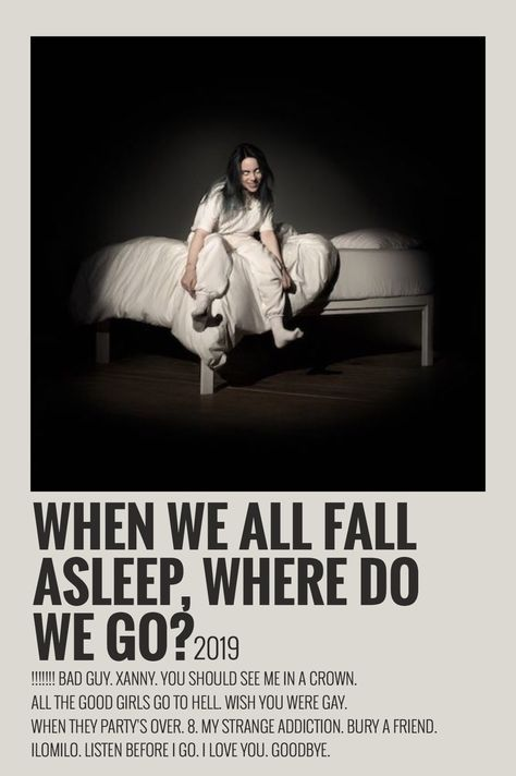 When We Fall Asleep Where do We Go? By Maja