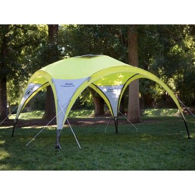 Coleman 2 For 1 All Day 4 Person Camping Dome Shelter Tent W Canopy 10 X 10 Tent 4 Person Tent Shelter Tent