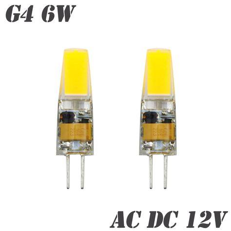 Ynl Bombillas Led Bulb G9 G4 E14 220v 9w Dimmable Lampada Led 6w G4 Ac Dc 12v Cob Lights Replace Halogen G4 G9 In Led Bulbs Tub Svetodiodnaya Lampa Lampa Fary