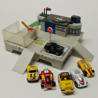 Details About Vtg Micro Machines Travel City Fold Up Playset Police Station Galoob 1987 Cars In 2020 With Images Micro Machines Police Station City Travel