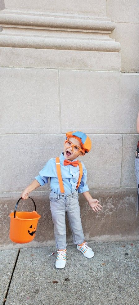 Halloween Costumes 2020 For 3 Year Olds Blippi Costume for 3 year old | Old halloween costumes, Halloween