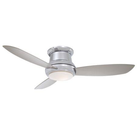 Minka Aire Fans Concept Ii 44 Inch Flush Mount Ceiling Fan Ylighting Com In 2020 Flush Mount Ceiling Fan Ceiling Fan Modern Ceiling Fan