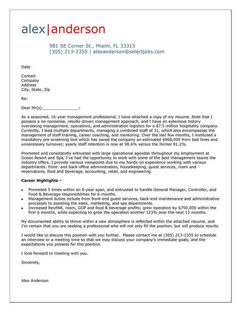 Sample Letters Of Interest For Unadvertised Jobs  Letter Sample