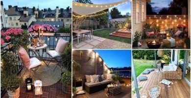 Ideas Para Decorar Mini Terrazas Decoracion Exterior 2020 En 2020 Jardines Verticales Patios Muebles De Exterior