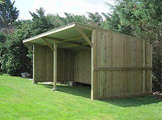 Abri de prairie - Cheval Liberté   Diy pole barn, Shed storage, Shed