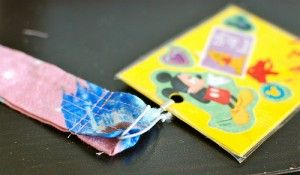 If you are handy with a sewing machine, check out this tutorial on how to make your own Disney Lanyards.
