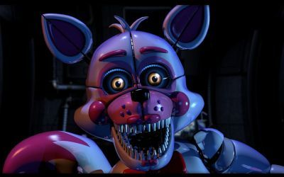 C4D FNaF - Funtime Foxy's Jumpscare Remake by xXBeteNoireXx