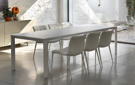 Tavoli Vetro Allungabili Bontempi.Tavoli E Sedie Moderni Tavolo Allungabile Tavoli Da Salotto