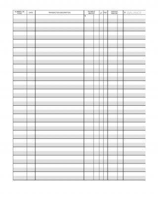 Download Checkbook Register 02 Printable Check Register Checkbook Register Check Register