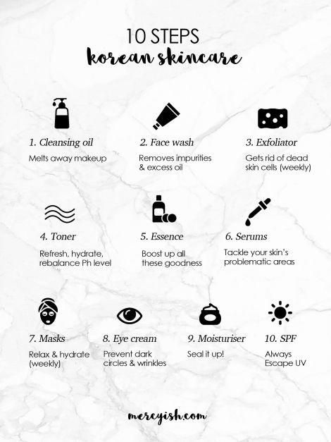 Advice To Allow You To Maximize Your Own Information Of Skin Care Routine Skincareroutine Korean 10 Step Skin Care Korean Skincare Korean Skincare Routine