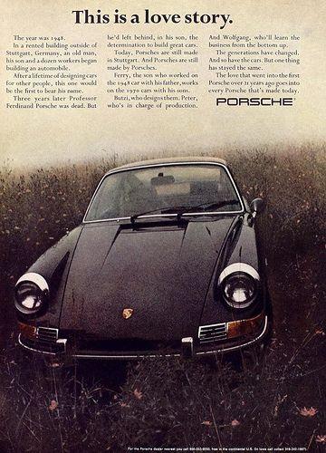 Porsche Love Story Vintage Porsche Porsche 911 Porsche