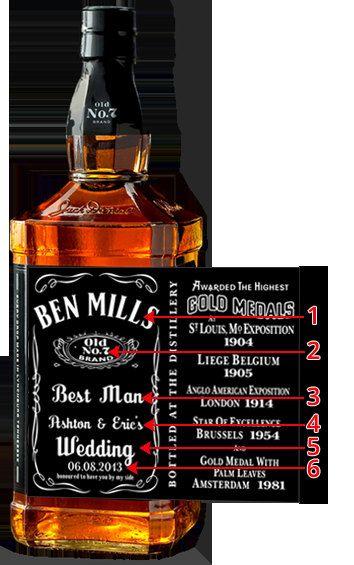 Custom Jack Daniels Labels Customize Them To By Jackdanielslabels 22 60 Jack Daniels Jack Daniels Label Mini Bottles Labels