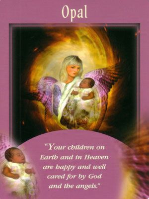 Opal Angel Messenger Angel Cards Angel Cards Reading Angel Oracle Cards