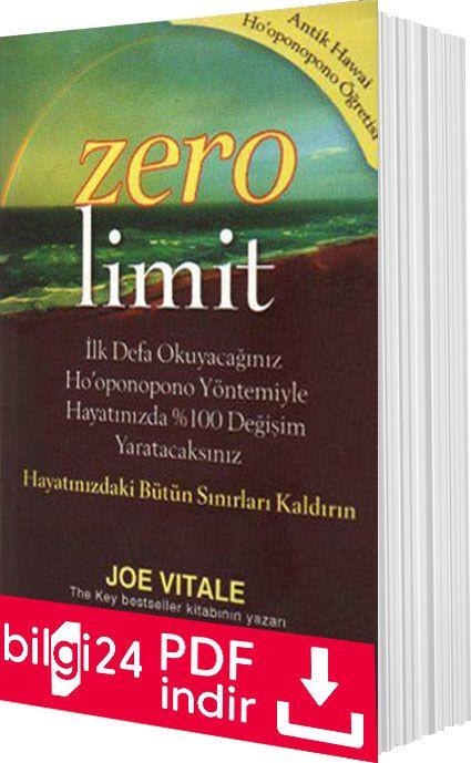 Joe Vitale Zero Limit Pdf Indir Kitap Kisisel Gelisim Yorgun