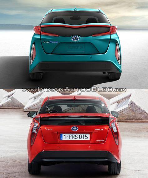 Toyota Prius Prime Vs 2016 Toyota Prius Comparo Toyota Prius