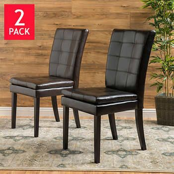 Tremendous Victoria Dining Chair 2 Pack Best Selling Costco Dining Beatyapartments Chair Design Images Beatyapartmentscom