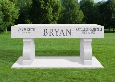 Granite Benches For Cemetery Memorial Benches Granite Simple Benches