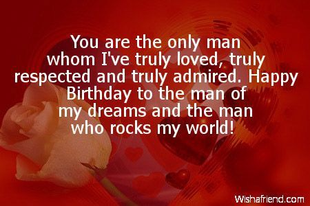 Happy Birthday Wishes For Lover Happy Birthday Quotes For Him