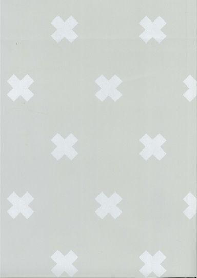 Behang Kinderkamer Crosses Grijs Wit Fabs World Behang Jongens Behang Kinderkamer Behang