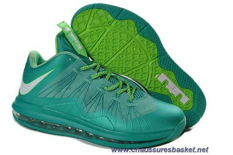 Pas Cher Crystal Mint Fiberglass - Poison Vert Easter 579765-300 Nike Air Max Lebron 10 Low