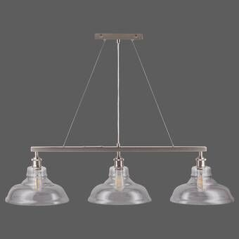 Bundaberg 1 Light Single Bell Pendant Light Compact Fluorescent Bulbs Kitchen Island Pendants