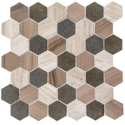 Andova Channing 2 X 2 Marble Honeycomb Mosaic Floor Use Tile Mosaic Flooring Natural Stone Tile Backsplash Marble Inlay Designs