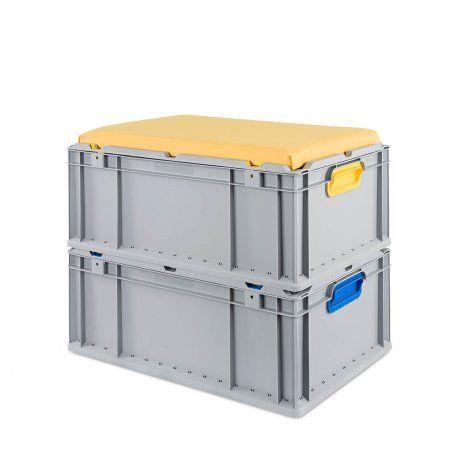 Eurobox Nextgen Seat Box Griffe Offen 64 32 Sitzkissen Box