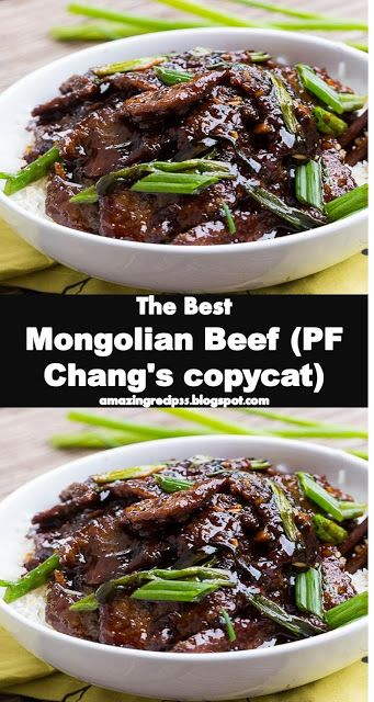 Yummy And Best Food Mongolian Beef Pf Chang S Copycat