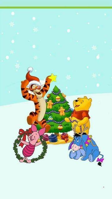 Disney Christmas Cute Christmas Wallpaper Christmas Wallpaper
