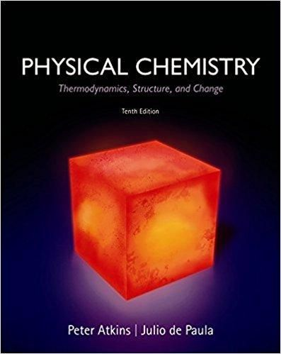 Physical Chemistry 10th Edition By Peter Atkins PDF