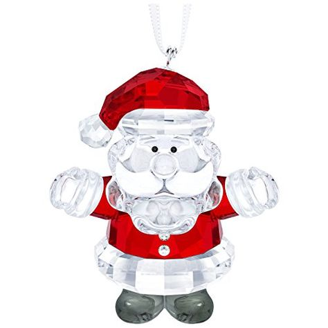 Santa Claus 2020 Holiday Christmas Swarovski Crystal Swarovski Santa Claus Ornament in 2020 | Swarovski christmas