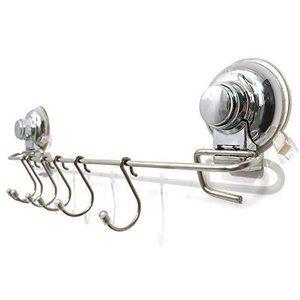 Tsy キッチンツールフック 壁掛け 強力 吸盤 穴あけ 不要 フック 調理