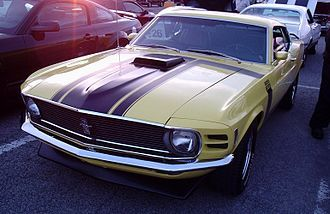 Larry Shinoda Wikipedia Ford Mustang Boss Vintage Muscle Cars