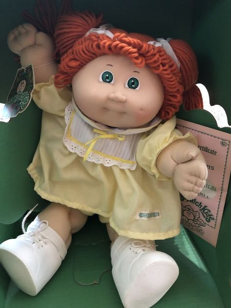 New 1984 Cabbage Patch Doll. The outside box is worn but everything inside is perfect | eBay!