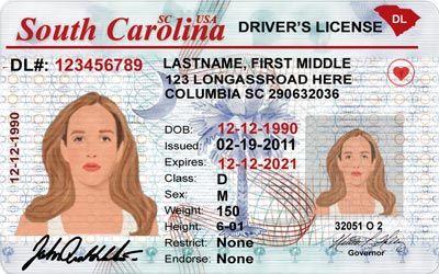 South Carolina Driver License Template Psd File Drivers License Psd Templates South Carolina
