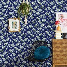 Bird Of Paradise Peel Stick Wallpaper Blue Opalhouse Peel And Stick Wallpaper Wallpaper Vinyl Wallpaper