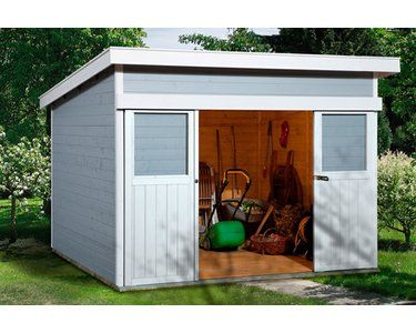Weka Holz Gartenhaus Turin A Grau Bxt 295 Cm X 209 Cm Kaufen Bei Obi Gartenhaus Metall Gartenhaus Gartenhaus Holz