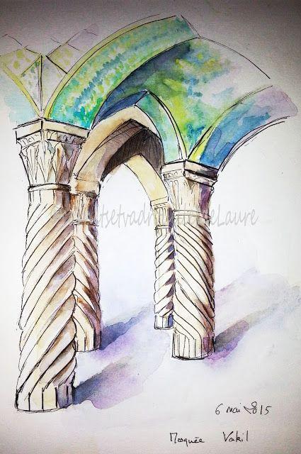 Carnets Et Vadrouilles De Laure Art Islamique Voyage Iran Iran