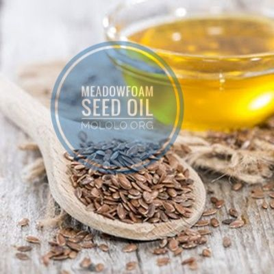 The Limnanthes Alba Plant Supplies The Seeds That Are Then Cold Pressing To Extract The Meadowfoam Seed Oil Meadowfoam See Seed Oil Oils Cosmetics Ingredients