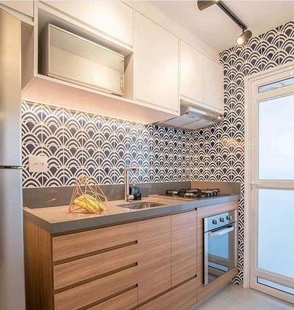 Cozinha Pequena Mas Com Espaco Bem Aproveitado Sem Deixar De Lado