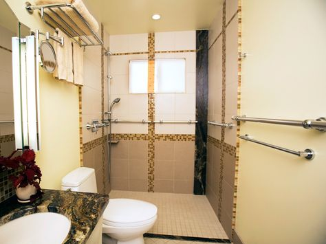 Photo Gallery Website The Dove disabled shower